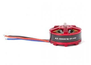 AX-4008CQ-600KV Brushless Outrunner Motor 4~5S (CCW) - full