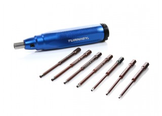 Turnigy V2 Combo Quick Drive 7in1 Tool – Metric and Imperial Hex Heads (7 Pcs) - All