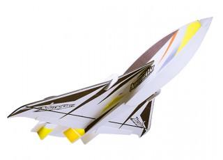 H-King Arctic Cat Water Plane - Glue-N-Go - Foamboard PP 820mm Yellow (Kit) - bottom