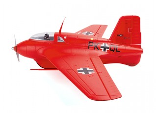 Durafly™ Me-163 Komet 950mm High Performance Rocket Fighter (PNF) (Red Edition) - LHS
