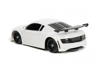 Mini-Q Sport 1:28 RC AWD Touring Car (RTR) (White) - back view