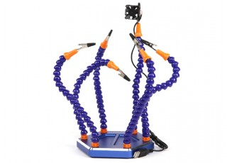 Turnigy Six Arm Soldering Station (w/USB Fan)