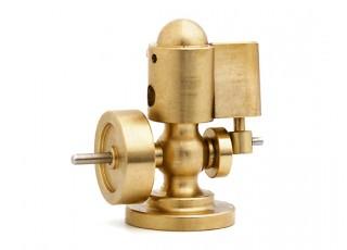 Microcosm M22 Mini Single Cylinder Steam Engine (Live Steam) Rear