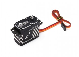 JX BLS-7114MG High Voltage Brushless Metal Gear High Torque Servo 14.4kg/0.10sec/71g with lead