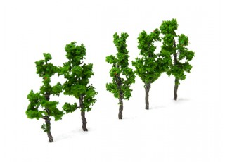 HobbyKing™ 43mm Scenic Wire Model Trees (5 pcs)