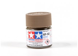 Tamiya XF-52 Flat Earth Acrylic Paint (10ml)