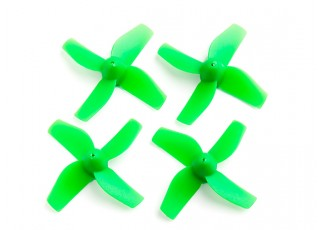35mm 4-Blade Propeller (2CCW, 2CW) (Green)
