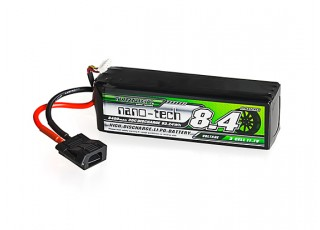 Turnigy nano-tech 8400mAh 3S 30C LiPo Pack w/Flat Connector