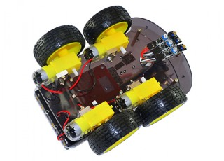 Kingduino-4wd-ultrasonic-robot-below