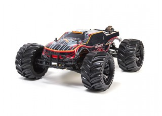 JLBRacing Cheetah 1/10 4WD Brushless Off-road Truggy (RTR) - front left