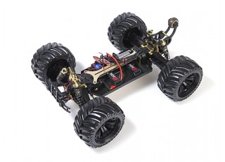 JLBRacing Cheetah 1/10 4WD Brushless Off-road Truggy (RTR) - uncovered