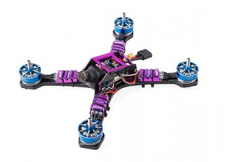 Diatone 2017 GT200S FPV Racing Drone PNF (Violet) View 3