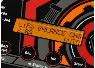 Turnigy Reaktor 300W 20A AC/DC Synchronous Balance Charger now with NiZN and LiHV (EU Plug) - display 2