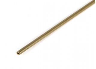"K&S Precision Metals Brass Round Stock Tube 1/16"" OD x 0.014 x 36"" (Qty 1)"