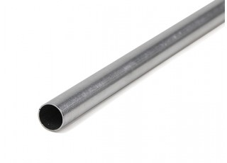 K&S Precision Metals Aluminum Stock Tube 11mm OD x 0.45mm x 1000mm (Qty 1)