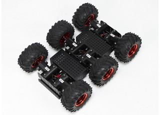 Wild Thumper 6WD Multi Chassis Under Chassis View
