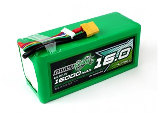 Multistar High Capacity 16000mAh 6S 10C Multi-Rotor Lipo Pack