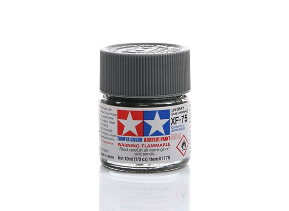 Tamiya XF-75 Flat IJN Grey Mini Acrylic Paint (10ml)