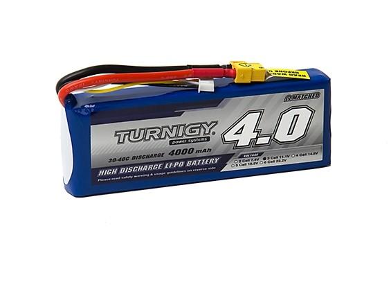 Turnigy 4000mAh 3S 30C Lipo Pack w/XT-60