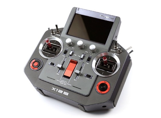 FrSky Horus X12S (EU Version) Accst 2.4GHz Digital Telemetry Radio System (Mode 1) (Texture) (UK Charger)