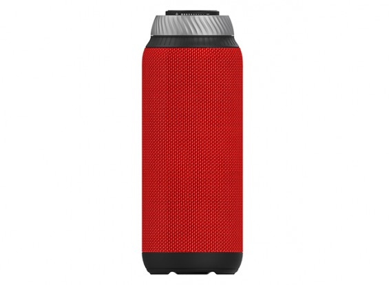Vidson D6 Portable Intelligent Bluetooth Speaker with 20W Sub woofer Calls/ TF/ AUX- RED