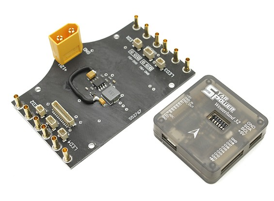 SCRATCH/DENT - Star Power 5v Power Step Down and Westerlund 32 Flight Control Unit.