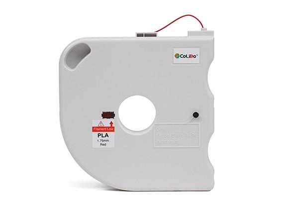 CoLiDo 3D-printer Filament 1.75mm PLA 500g Spool w / Cartridge (Rood)