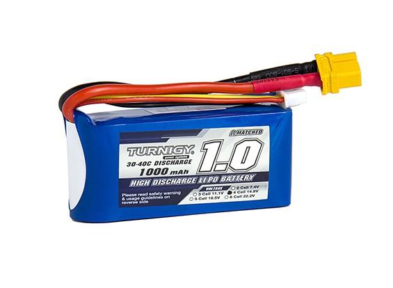 Pack Turnigy 1000mAh 4S 30C Lipo