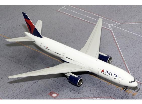 Gemini Jets Delta Air Lines Boeing B777-200ER N864DA 1:200 Diecast Model G2DAL325