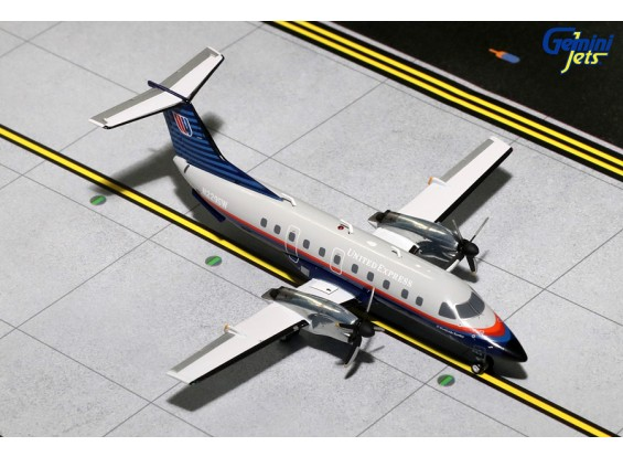 Gemini Jets United Express (SkyWest Airlines) Embraer EMB-120 Brasilia N229SW 1:200 Diecast Model G2UAL605