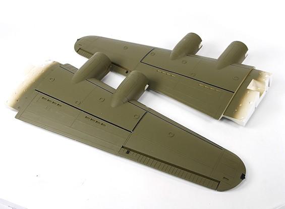 Hobbyking 1875mm B-17 F / G Flying Fortress (V2) (Olive) - Vervanging Main Wing 1875mm (72.25in)