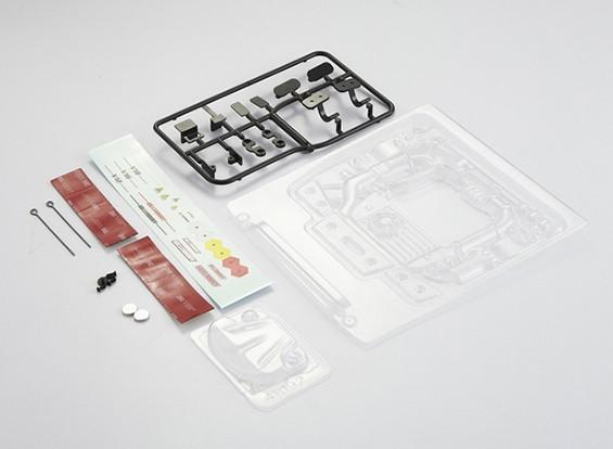 MatrixLine Polycarbonaat Engine Kit voor 1/10 Touring Cars # 2