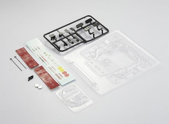 MatrixLine Polycarbonaat Engine Kit voor 1/10 Touring Cars # 4