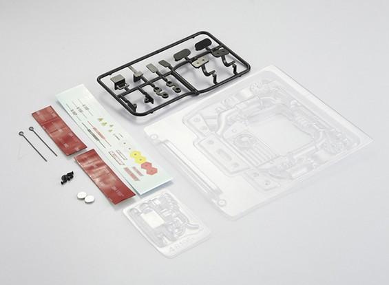 MatrixLine Polycarbonaat Engine Kit voor 1/10 Touring Cars # 5