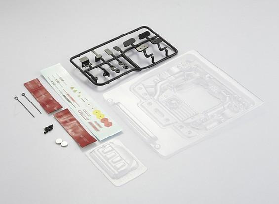 MatrixLine Polycarbonaat Engine Kit voor 1/10 Touring Cars # 7