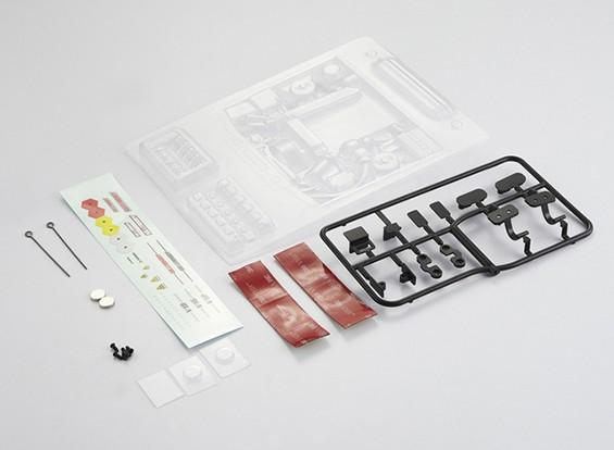 MatrixLine Polycarbonaat Modified Verticale Motor Kit voor 1/10 Touring Cars