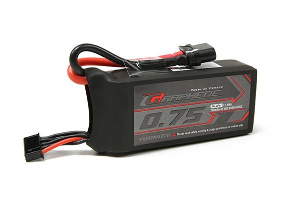 Pack Turnigy Grafeen 750mAh 4S 65C Lipo (Short Lead)