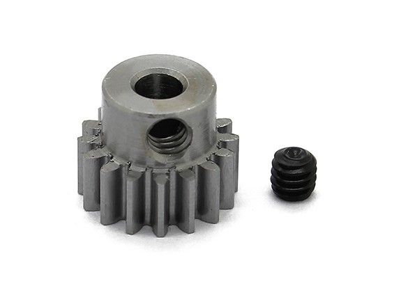 Robinson Racing Steel Pinion Gear 48 Pitch Metric (0,6 Module) 16T