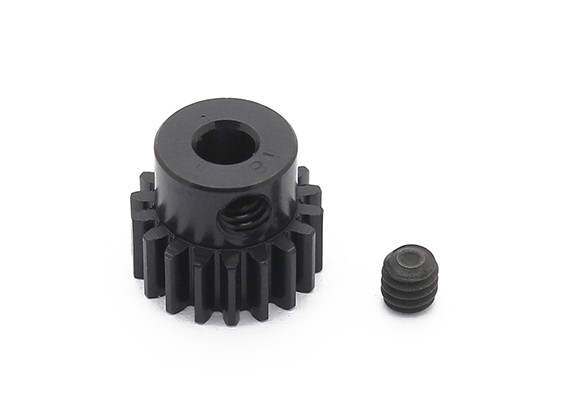 Robinson Racing zwart geanodiseerd aluminium Pinion Gear 48 Pitch 18T