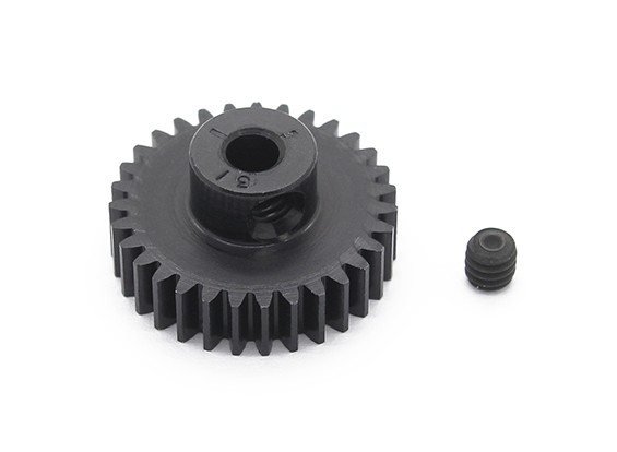 Robinson Racing zwart geanodiseerd aluminium Pinion Gear 48 Pitch 31T