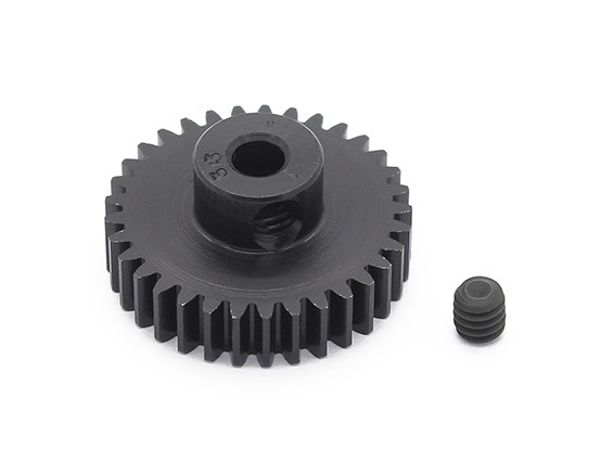 Robinson Racing zwart geanodiseerd aluminium Pinion Gear 48 Pitch 33T