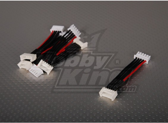 Male JST-XH <-> Female Thunderpower 4S 5cm (5pcs / bag)