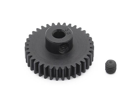 Robinson Racing zwart geanodiseerd aluminium Pinion Gear 48 Pitch 35T (AR Warehouse)