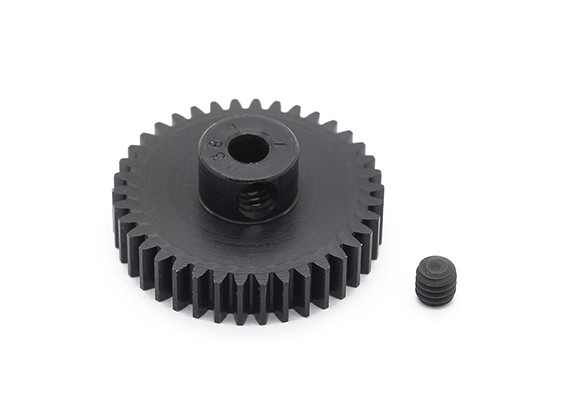 Robinson Racing zwart geanodiseerd aluminium Pinion Gear 48 Pitch 38T (AR Warehouse)
