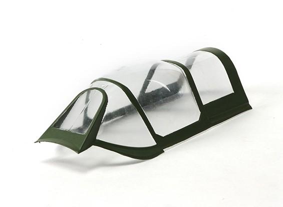 Durafly ™ Spitfire mk5 ETO (Groen / Grijs) Canopy