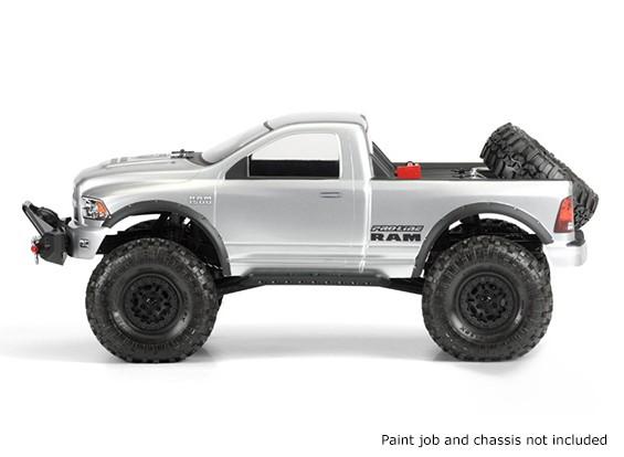 Pro-Line 10/01 Schaal RAM 1500 Clear Body Voor Monster Trucks / Crawlers
