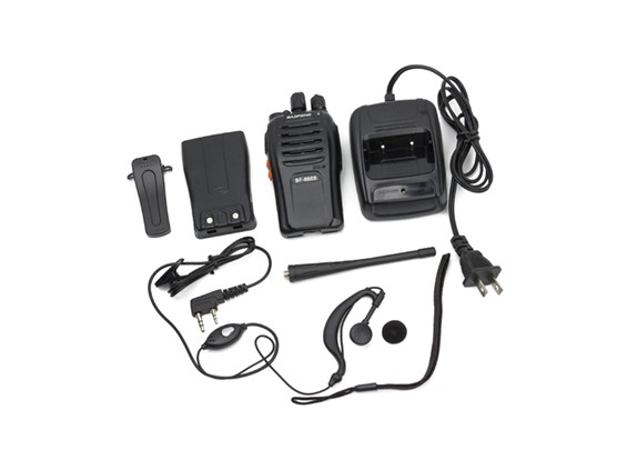 Baofeng BF-666S Draagbare Two Way Radio 5W 16 kanalen UHF Transceiver