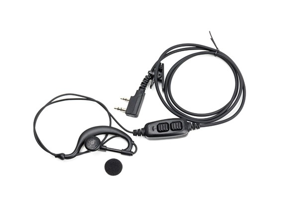 Baofeng UV82 Dual PTT oortelefoon