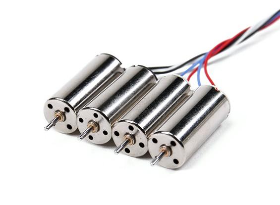 Mini Quad Brushed Motors 8.5x20mm (4 stuks)