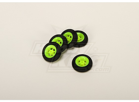 Super Light 5 Spoke Wheel D30x9mm (5pcs / bag)